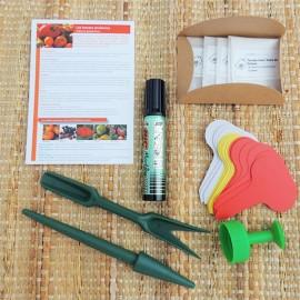 Coffret cadeau pour jardinier passionné - Graines de tomates anciennes