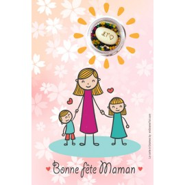Bonne fête Maman - Carte à graines