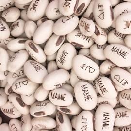 Haricot Magique 'JE T'❤ MAMIE' pour faire passer vos messages