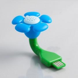Diffuseur de parfum fleur USB - 4 senteurs