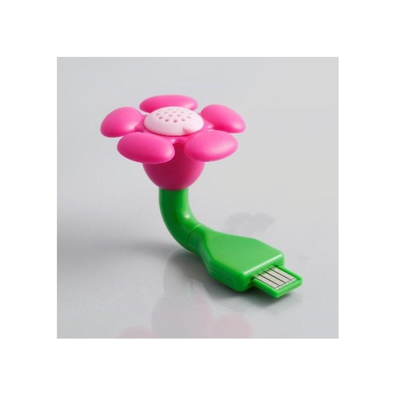 diffuseur de parfum fleur usb 4 senteurs. Black Bedroom Furniture Sets. Home Design Ideas
