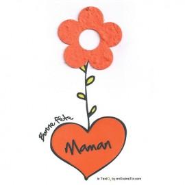 """TextO2 à détacher """"Bonne Fête Maman"""""""