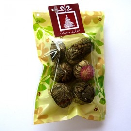 Pochette dégustation de 6 fleurs de thé - SPECIAL NOEL
