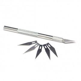 Cutter haute précision + 5 lames