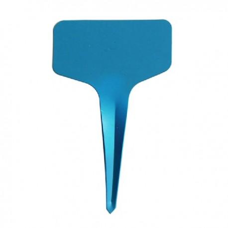 10 étiquettes plastique BLEU pour semis - 6x10cm