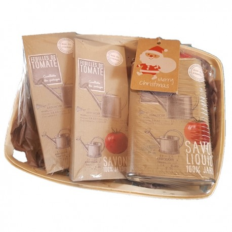 COFFRET 3 SAVONS 100% JARDIN FEUILLES DE TOMATE - 16.90 €
