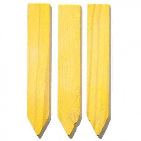 10 étiquette bois - 10 x 1,7 cm à piquer