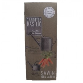 Savon 100% jardin Carottes & Basilic