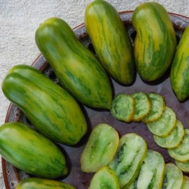 Graines Tomate 'Green sausage'